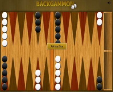 Игра backgammon