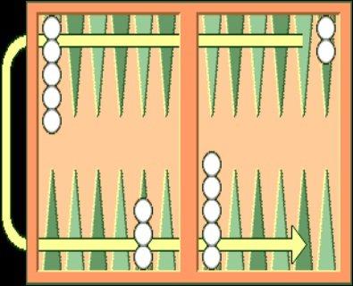 Игра Простые нарды